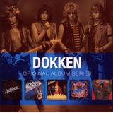 Cd Box Dokken Original Album Series  5 Discos