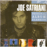 Cd Box Joe Satriani   Original Album Classics   Novo Lacrado