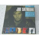 Cd Box Joe Satriani   Original Album Classics