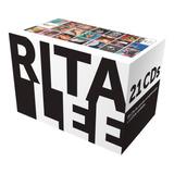 Cd Box Luxo Rita Lee   Discografia   Box Com 21 Cds Lacrado