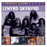 Cd Box Lynyrd Skynyrd 5 Original Albums
