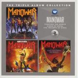 Cd Box Manowar Triplo
