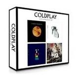 Cd Box Set Coldplay 4 Cds Novo Lacrado