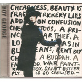 Cd Boy George   Cheapness And Beauty  vocal Culture Club