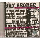 Cd Boy George   U Can Never B2 Straight  vocal Culture Club