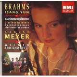 Cd Brahms Isang Yun   Klarinettenquintette   Sabine Meyer