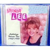 Cd Brenda Lee Anthology Vol Two Original Importado