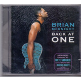 Cd Brian Mcknight   Back At One   Novo