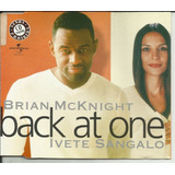 Cd Brian Mcknight Single Back At One Feat  Ivete Sangalo