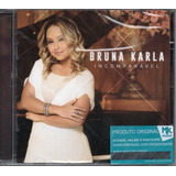 Cd Bruna Karla   Incomparável