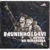 Cd Bruninho E Davi   Ao Vivo No Ibirapuera
