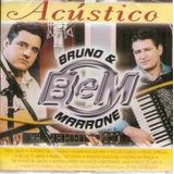 Cd Bruno E Marrone   Acustico   Original E Lacrado