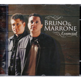 Cd Bruno E Marrone   Essencial    Com A Música Bijuteria