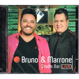 Cd Bruno E Marrone   Studio Bar Live