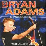 Cd Bryan Adams  Vina Del Mar 2007