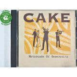 Cd Cake Motorcade Of Generosity   Lacrado   K4