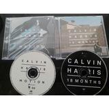 Cd Calvin Harris Motion E 18 Months