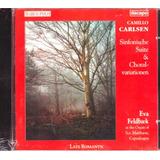 Cd Camillo Carlsen   Sinfonische Suite   Eva Feldbaek