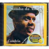 Cd Candeia Samba Da Antiga Edição Rara Original Novo Lacrado