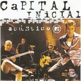 Cd Capital Inicial   Acústico Mtv