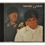 Cd Carlos Cezar E Cristiano 1989 1ª Edição   D3