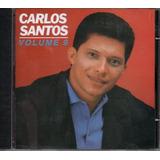 Cd Carlos Santos Vol 9   Original E Lacrado