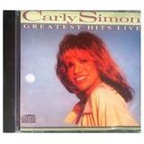 Cd Carly Simon Greatest Hits   Original E Lacrado