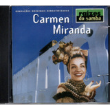Cd Carmen Miranda   Raízes Do Samba   Jbm