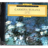 Cd Carmina Burana   Carl Orff  1895   1982