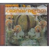 Cd Carnaval Sp 2001  Mocidade Alegre Leandro De Itaquera X 9