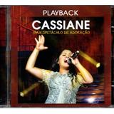 Cd Cassiane   Um Espetáculos De Adoração   Play Back