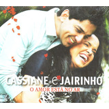 Cd Cassiane E Jairinho   O Amor Está No Ar