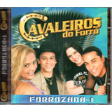 Cd Cavaleiros Do Forró   Forrozada Vol  6