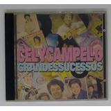 Cd Celly Campello Grandes Sucessos   Seminovo