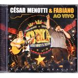 Cd César Menotti E Fabiano   Ao Vivo