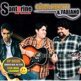 Cd César Menotti E Fabiano Santorine Promocional   Raro