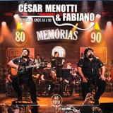Cd Cesar Menotti Fabiano Memórias Ao Vivo Comprou Ganha 2 Cd