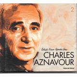 Cd Charles Aznavour   Coleção Folha Grandes Vozes  2