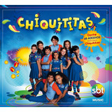 Cd Chiquititas   Sbt 2013 Novo Lacrado   Contém 26 Adesivos