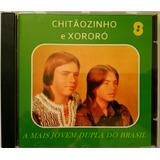 Cd Chitãozinho E Xororó   A Mais Jovem Dupla Do Brasil  1972