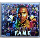 Cd Chris Brown   Fama   2011   Primeira Edição