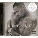 Cd Chris Brown   Royalty   Original E Lacrado Rap Novo