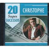 Cd Christophe   20 Super Sucessos