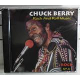 Cd Chuk Berry Rock And Roll Music Raro Rock Funk Soul Blues