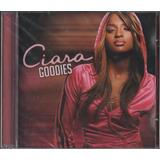 Cd Ciara Goodies Álbum De Estréia Feat Ludacris  2004 Lacrdo