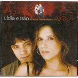 Cd Cídia E Dan   Duetos Românticos