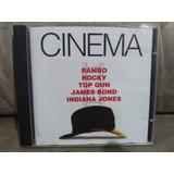 Cd Cinema Rambo Rocky Top Gun James Bond Indiana Jones