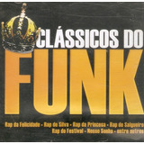 Cd Clássicos Do Funk   Rap Da Felicidade