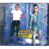 Cd Cleiton E Camargo Amor No Carro 2001   Original Lacrado
