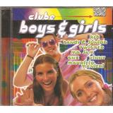 Cd Clube Boys E Girls  com Mauricio Manieri Vinny Os Garotos